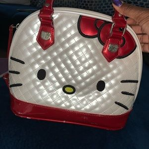 Authentic Hello Kitty Leather Purse